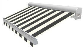 Blokstreep XL T362 Zwart/Créme Zonneschermdoek