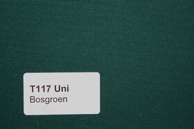 Effen T117 Bosgroen Zonneschermdoek