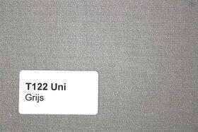 Effen T122 Grijs Zonneschermdoek