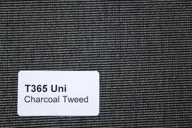 Effen XL T365 Charcoal Tweed Zonneschermdoek