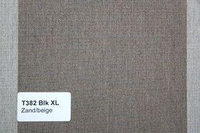 Blokstreep XL T382 Zand/Beige Zonneschermdoek