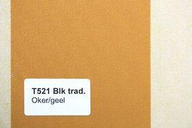 Blokstreep T521 Oker/Geel Zonneschermdoek