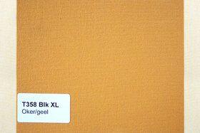 Blokstreep XL T358 Oker/Geel Zonneschermdoek