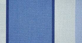 Gestreept D338 Hardelot Bleu Zonneschermdoek