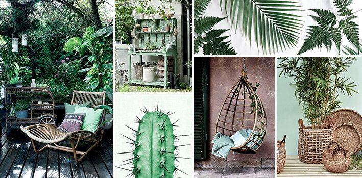 Tuintrend 1. Groene tuin