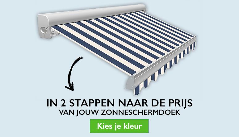 Zonneschermdoek per meter bestellen