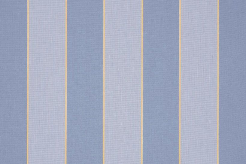 Gestreept 7109 Sienne Blue Zonneschermdoek